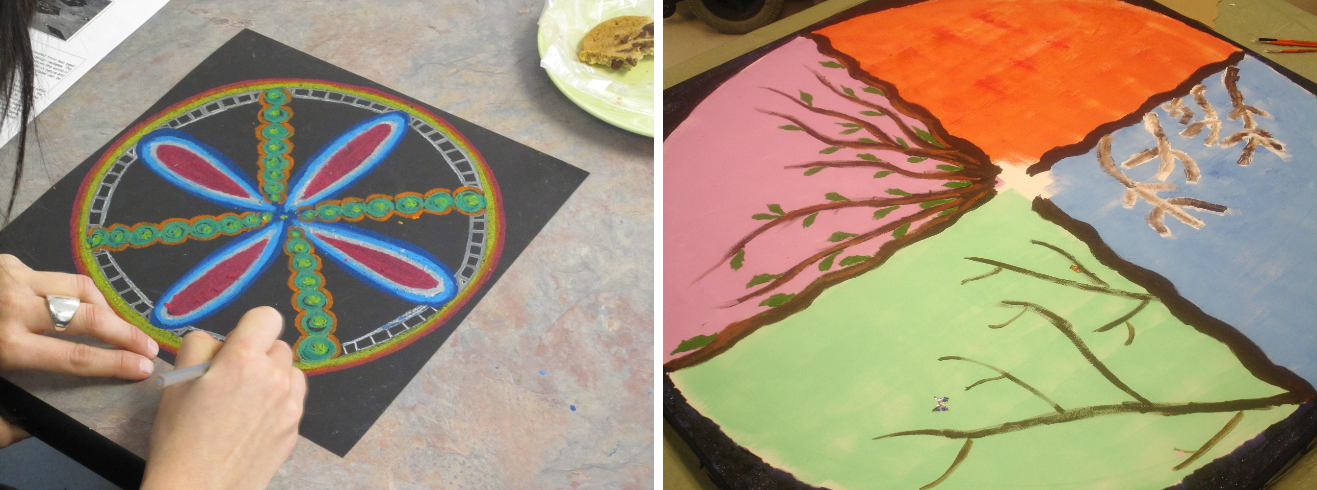 Local groups offer creative approach to mental illness